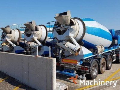 OTHER Concrete mixer trailer betono gamybos įrenginiai