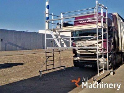 CUSTERS A truck scaffold mobilūs bokštiniai pastoliai