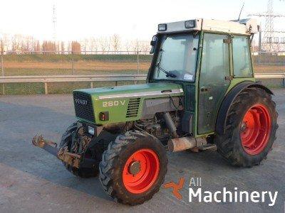 FENDT 280 MFWD  ratiniai traktoriai