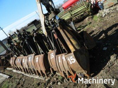 OTHER Excavator buckets kitos dalys
