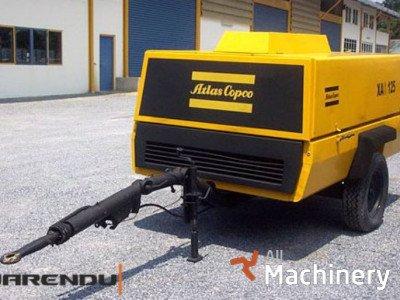 ATLAS Copco XAS 125 mobilūs oro kompresoriai