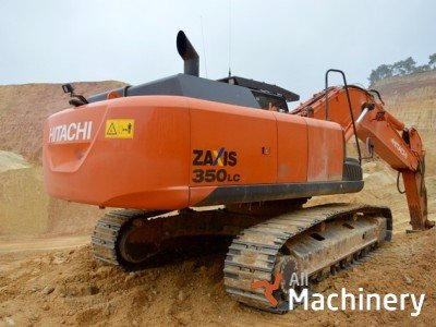 HITACHI Zaxis 350LCN-5B vikšriniai ekskavatoriai